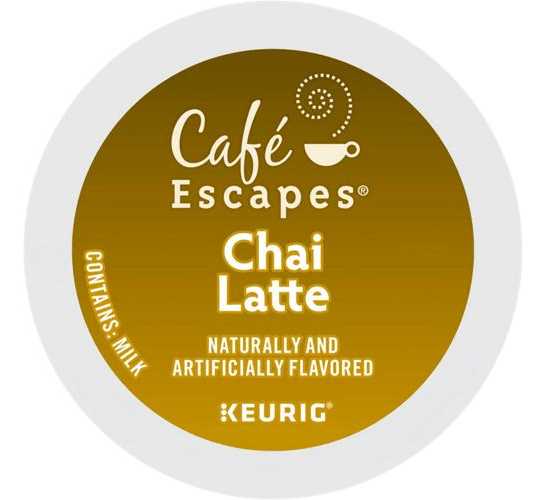 Chai Latte From Café Escapes