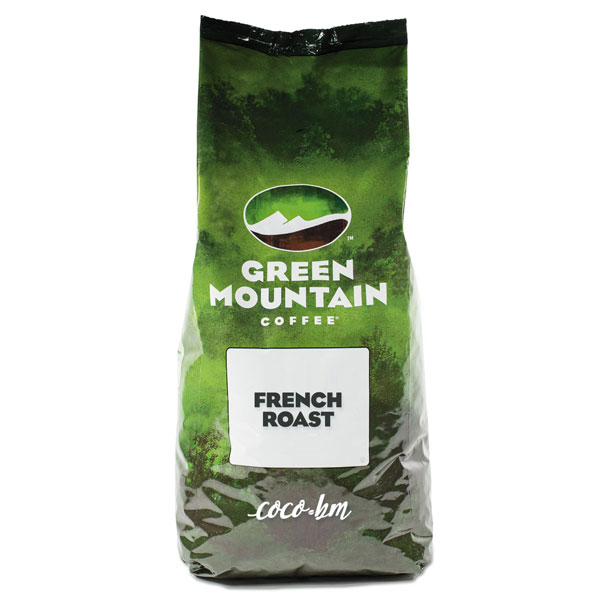 Green Mountain French Roast whole beans 4 lb