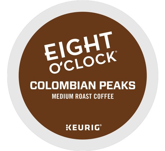 Colombian Peaks From Eight O'Clock