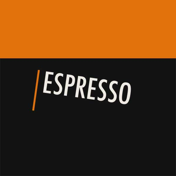 Notegraphy-styled espresso category image
