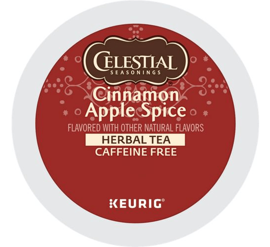 Cinnamon Apple Spice Herbal Tea From Celestial Seasonings