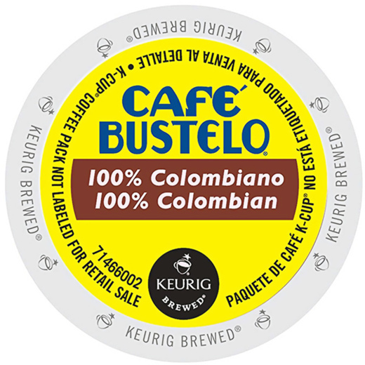 100% Colombian From Café Bustelo