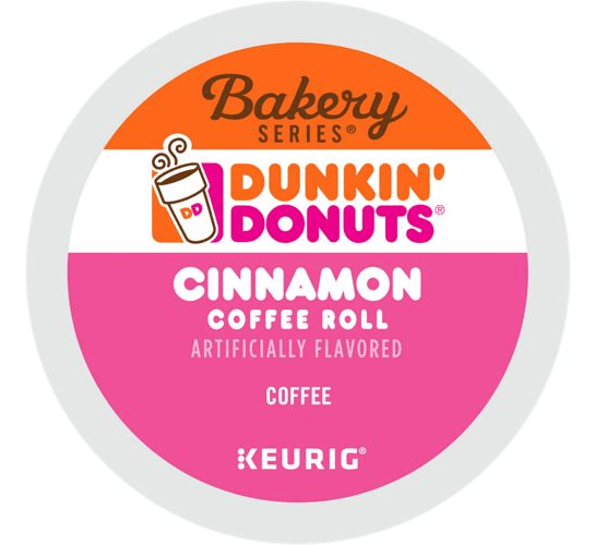 Cinnamon Coffee Roll From Dunkin' Donuts