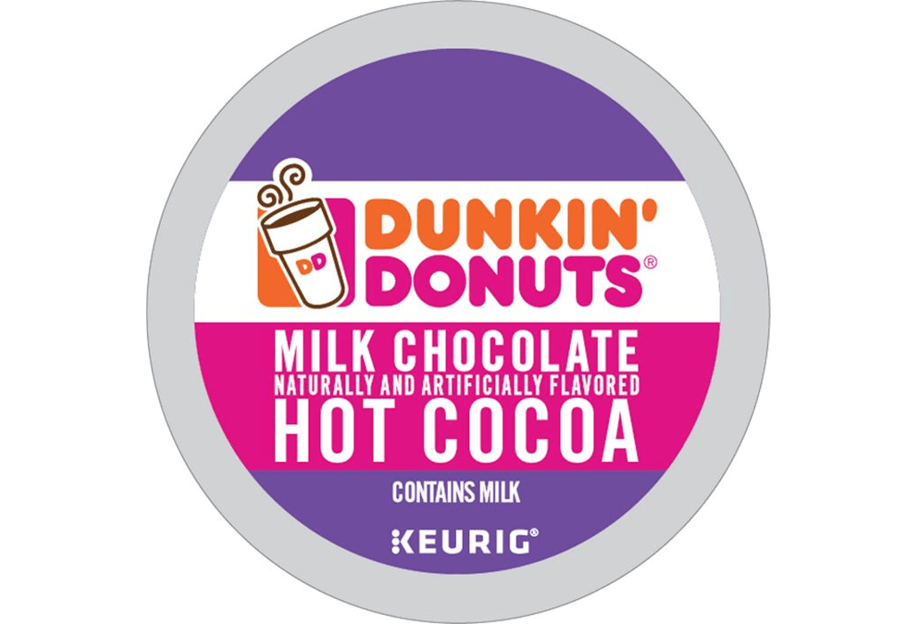 Milk Chocolate From Dunkin' Donuts