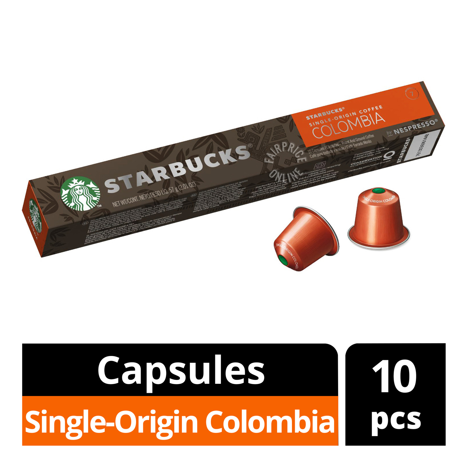 STARBUCK'S Colombian From NESPRESSO
