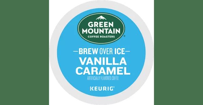 BREW OVER ICE – Vanilla Caramel From Green Mountain