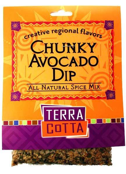 Chunky Avocado Dip – TERRA COTTA