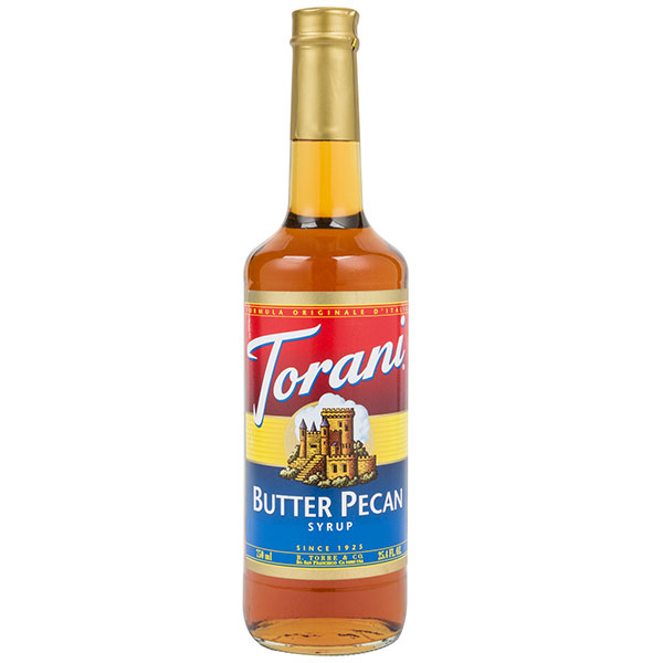 Butter Pecan Syrup From Torani (25.4 Oz 750 Ml)