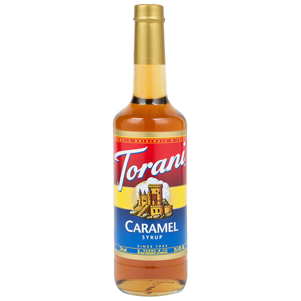 Caramel Syrup From Torani (25.4 Oz 750 Ml)