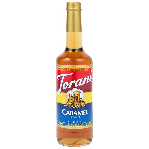 Caramel Syrup From Torani (25.4 Oz 750 Ml)