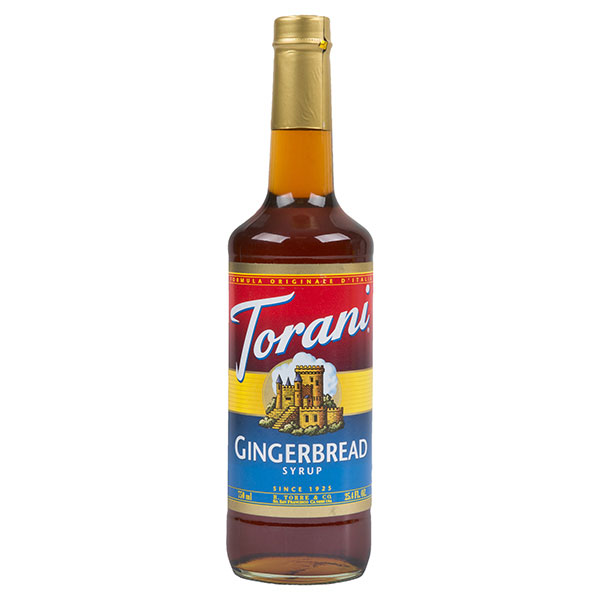 Gingerbread Syrup From Torani (25.4 Oz 750 Ml)