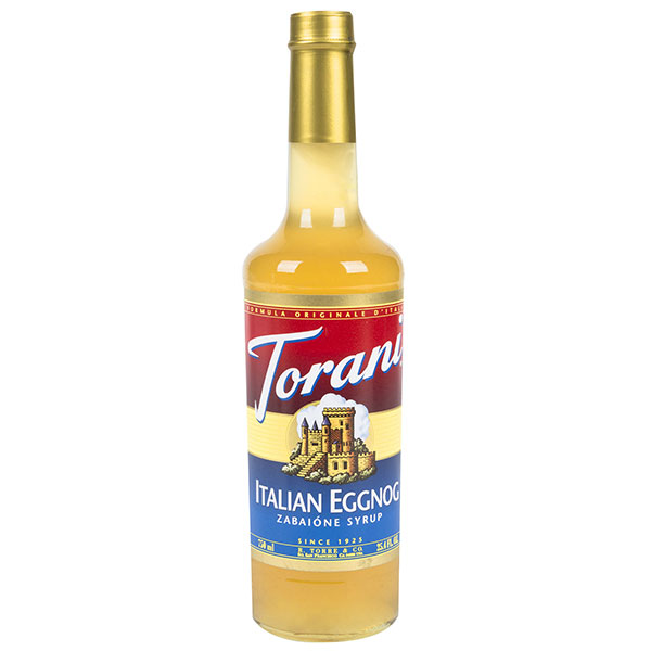 Italian Eggnog Syrup From Torani (25.4 Oz 750 Ml)