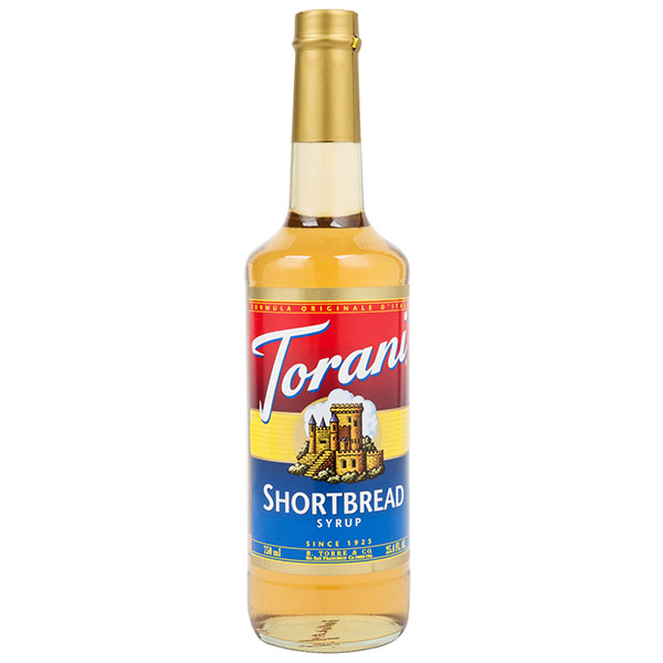 Shortbread Syrup From Torani (25.4 Oz 750 Ml)