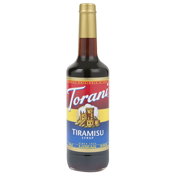 Tiramisu Syrup From Torani (25.4 Oz 750 Ml)