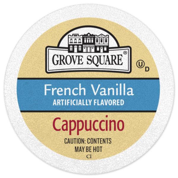 French Vanilla Cappuccino From Grove Square
