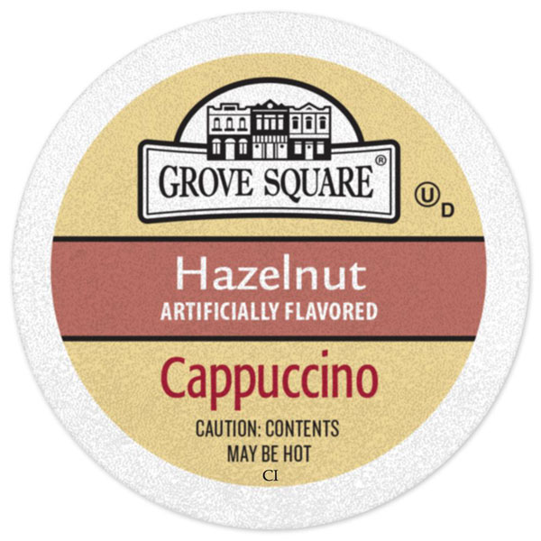 Hazelnut Cappuccino From Grove Square