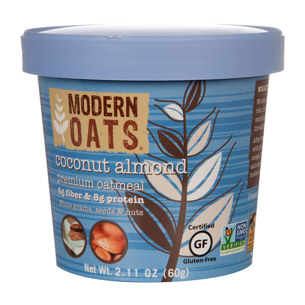 Coconut Almond Instant Oats From Modern Oats