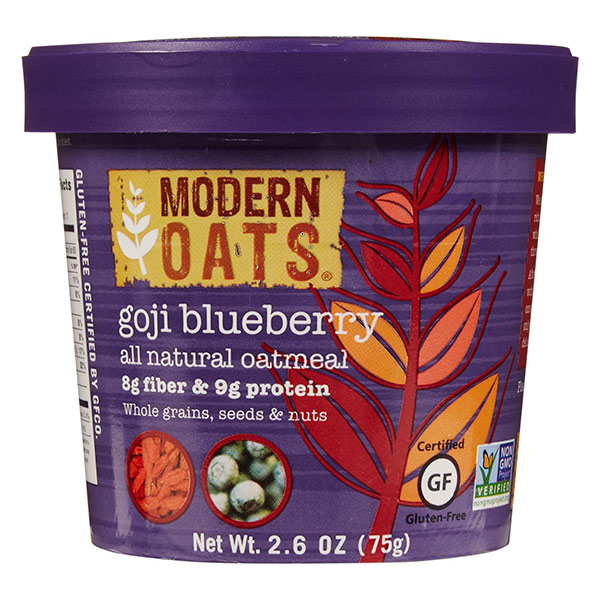 Goji Blueberry Instant Oats From Modern Oats