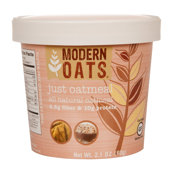 Just Oatmeal Instant Oats From Modern Oats