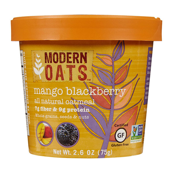 Mango Blackberry Instant Oats From Modern Oats