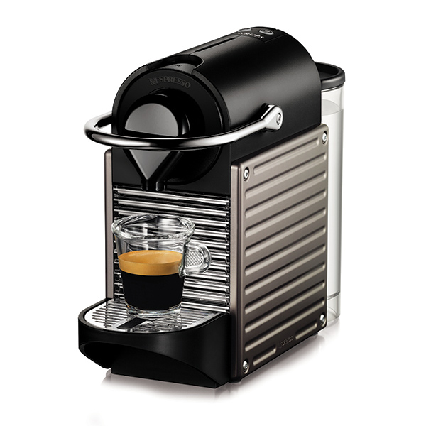 PIXIE OriginalLine Capsule Brewer – (TITAN) From Nespresso