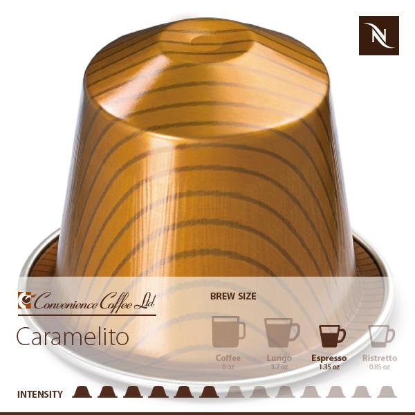 Barista Caramel Crème Brulee Capsules From Nespresso