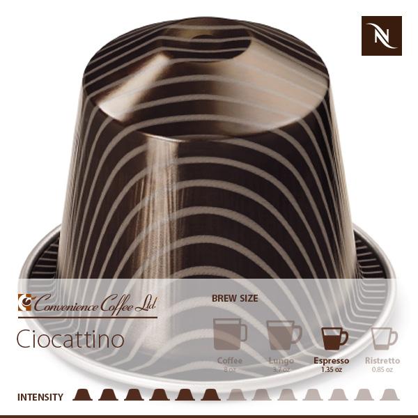 CIOCATTINO Capsules From Nespresso