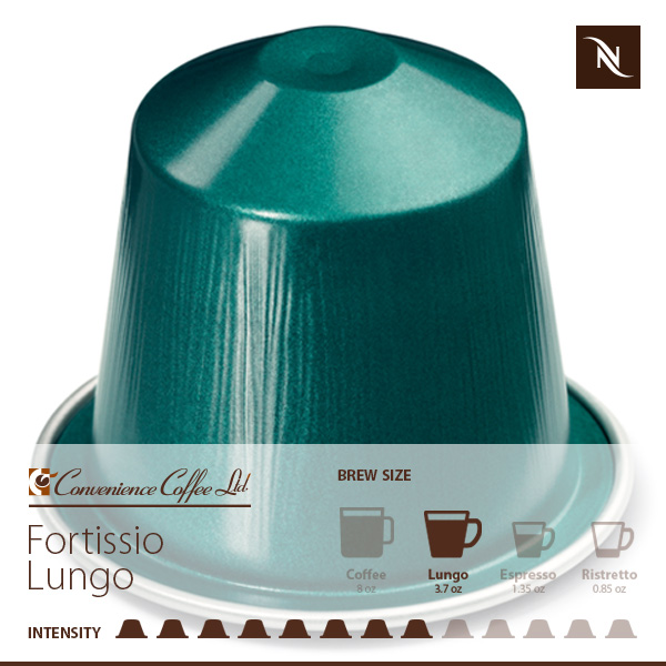 FORTISSIO LUNGO Capsules From Nespresso