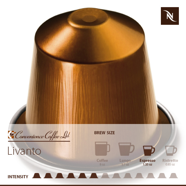 LIVANTO Capsules From Nespresso