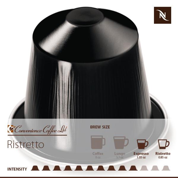 Ispirazione Ristretto Italiano Capsules From Nespresso