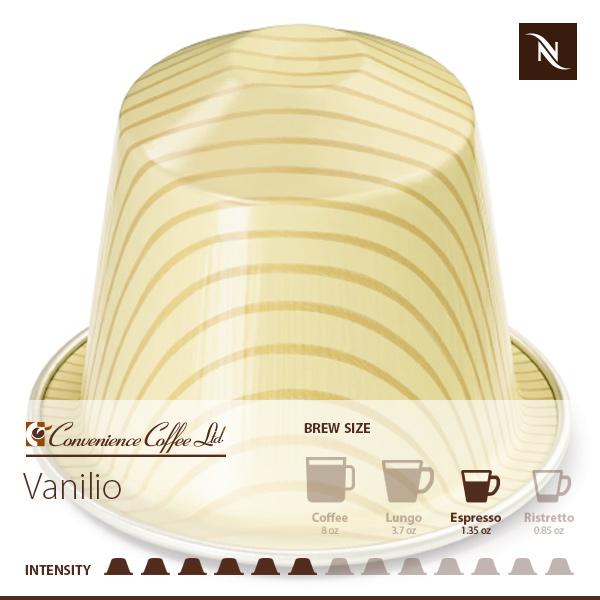 VANILIO Capsules From Nespresso