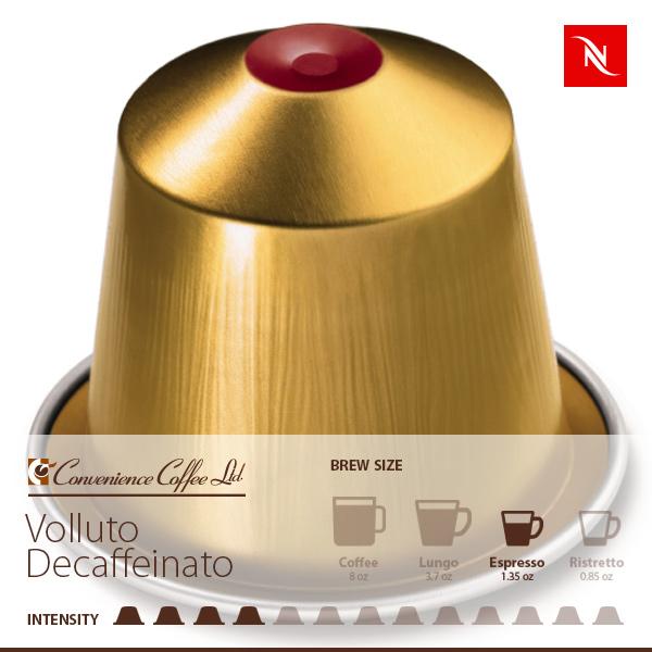 VOLLUTO DECAFFEINATO Capsules From Nespresso