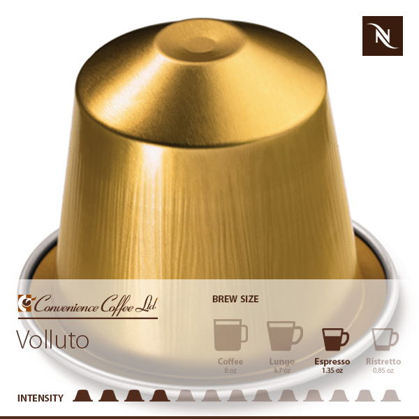 VOLLUTO Capsules From Nespresso