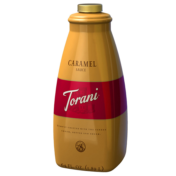 Caramel Sauce From Torani (64 Oz)