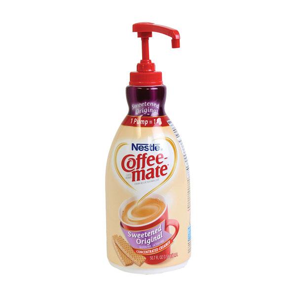 Coffee-mate Original Sweet  (50.7 Oz Dispenser Pump) From Nestlé