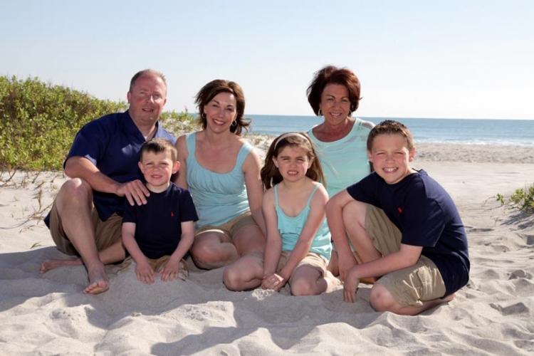 family beach photography portraits