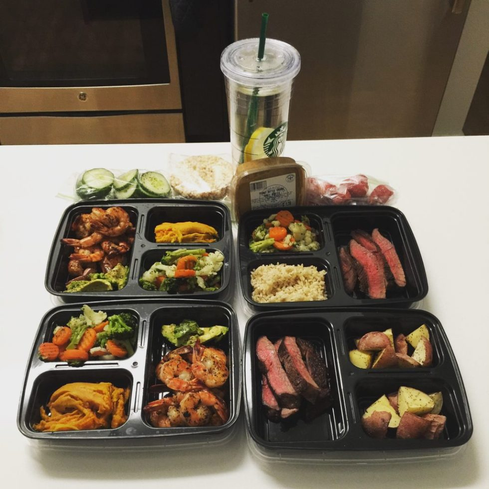 eating clean meal prep lifestyle
