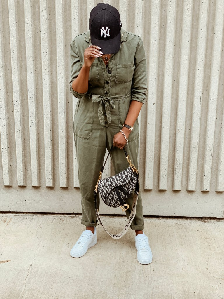 cocoa butter diaries day and night Abercrombie boiler suit Dior saddle bag nike Air Force one mid white New York yankees baseball cap saint Laurent oversized sunglasses Fendi shearling baguette Louboutin ankle boots San Francisco SF Bay Area fashion blog style blogger