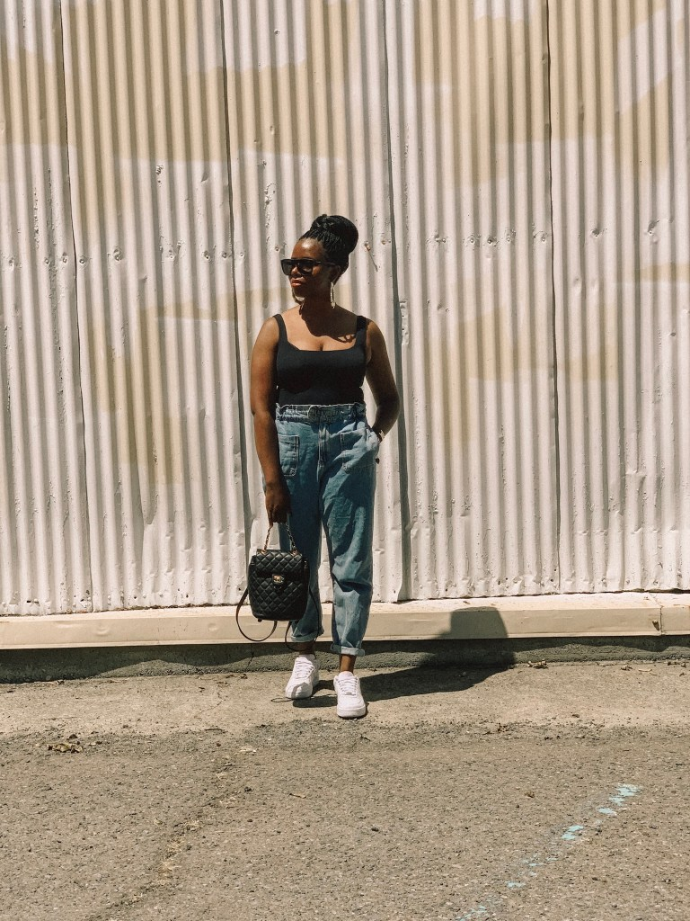 San Francisco Style Blogger Amber Richele of The Cocoa Butter Diaries shares her struggles with her confidence (in front and behind the camera) since her injury
