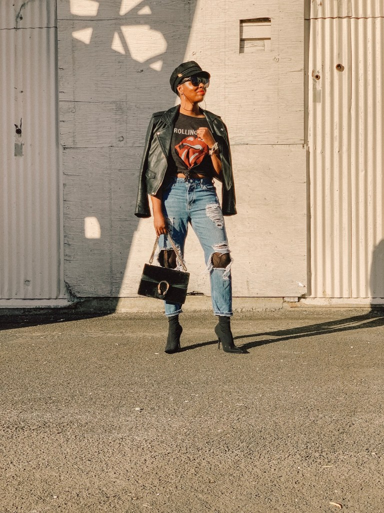San Francisco style blogger Amber Richele of The Cocoa Butter Diaries shares her re-found love of tights as an adult!