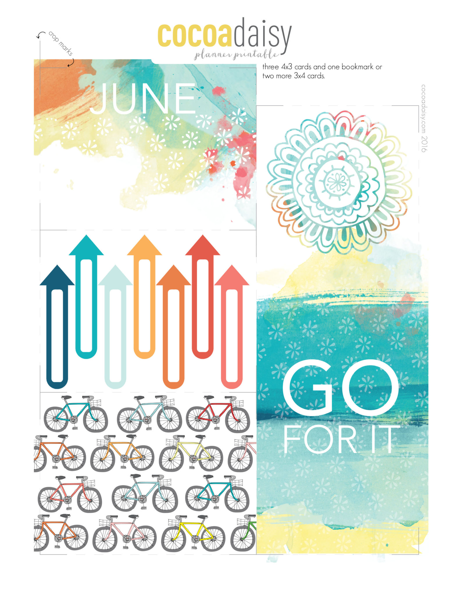 Free June Planner Printables