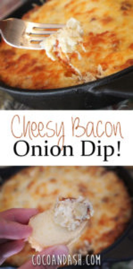 Cheesy Bacon Onion Dip
