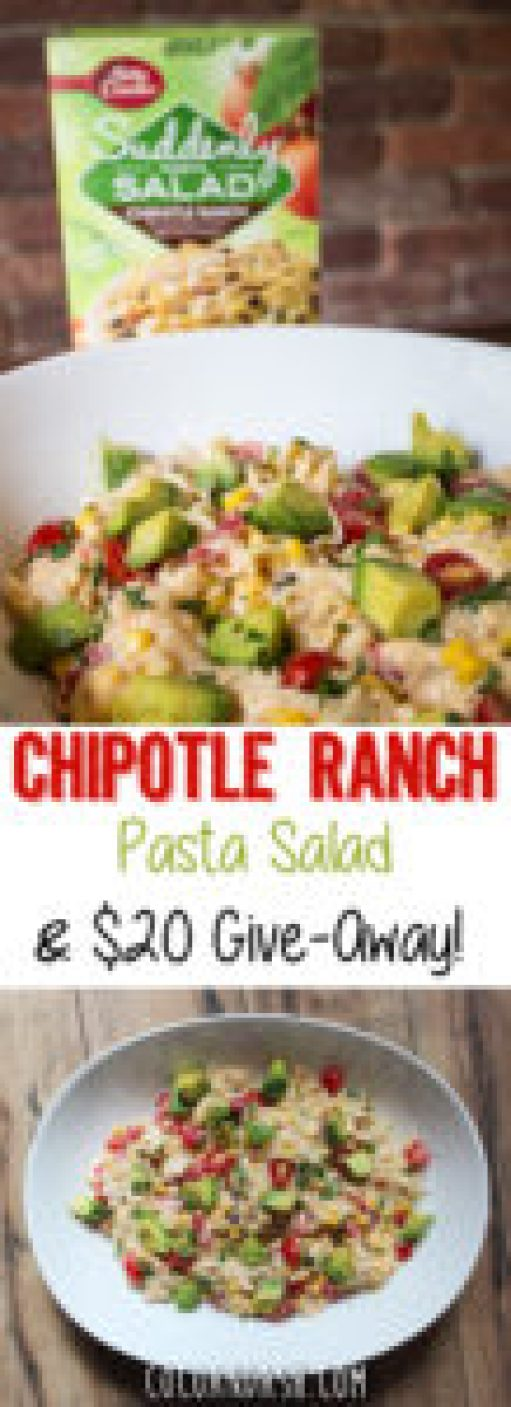 Chipotle Ranch Pasta Salad