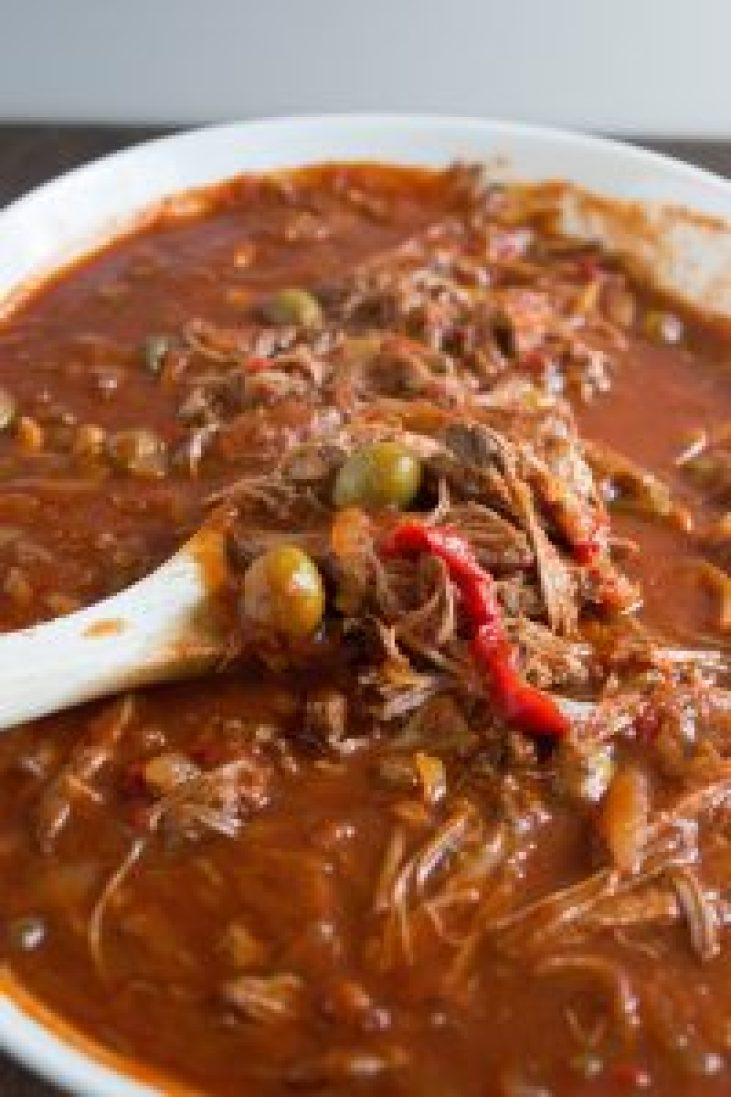 Ropa Vieja, shredded beef, cuban, recipe, slow cooker, crockpot, easy, roast, beef,