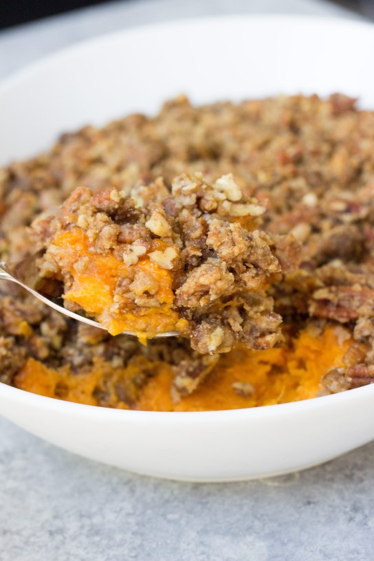 sweet potato casserole, sweet potato casserole, recipe for sweet potato casserole, sweet potatoes, Thanksgiving recipe, side dish,
