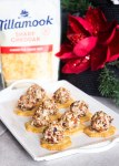 mini cranberry cheddar cheeseballs, cheeseball, cheese, appetizer, easy, holiday, coco and ash, cranberry