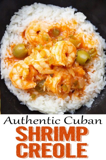 Cuban Shrimp Creole (Enchilado de camarones), shrimp, cuban recipes, cuban food, camarones, coco and ash