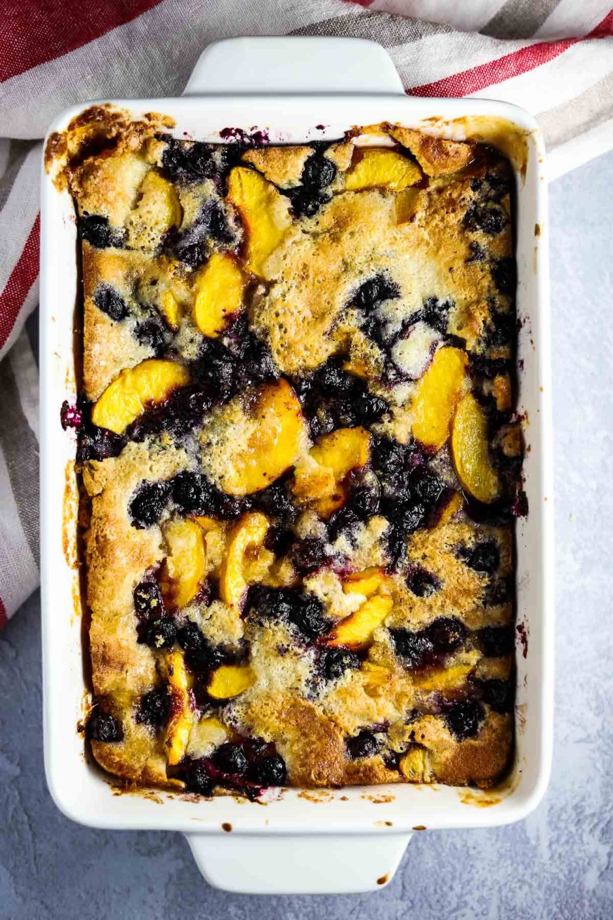 Peach and Blueberry Cobbler, Cobbler, from scratch, summer, dessert, coco and ash
