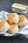 easy homemade biscuits, easy biscuits, biscuits and gravy, no buttermilk, coco and ash