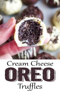 Oreo Cream Cheese Truffles